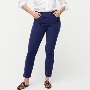JCrew Vintage Straight Corduroy Pants NWT